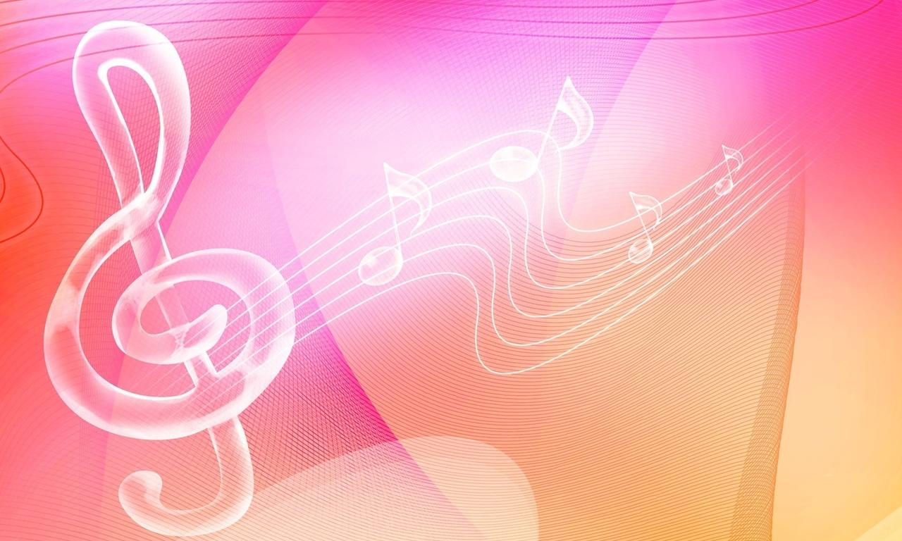 Нотный стан, скрипичный ключ, мелодия, музыка.