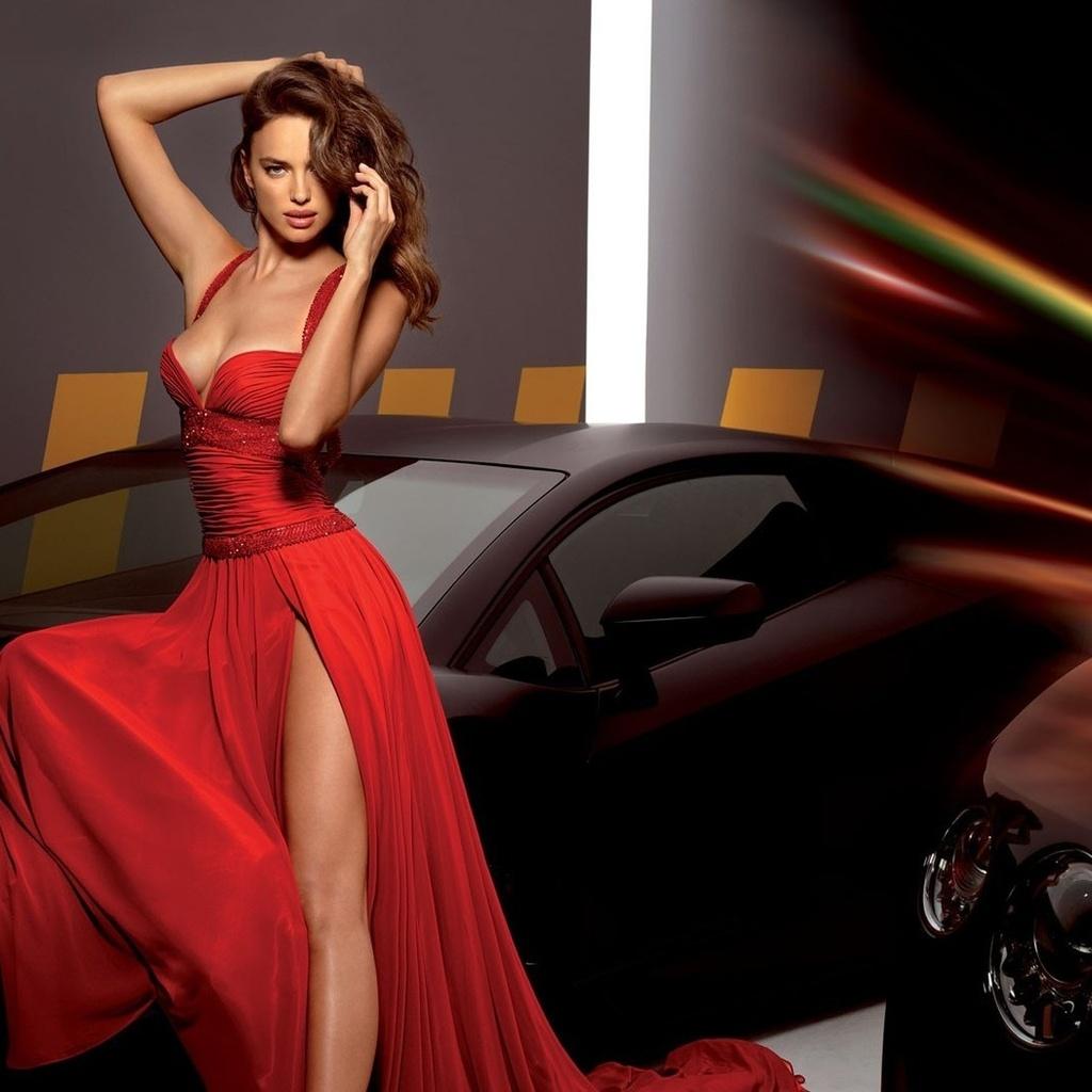 Фото девушек моделей в вечерних платьях