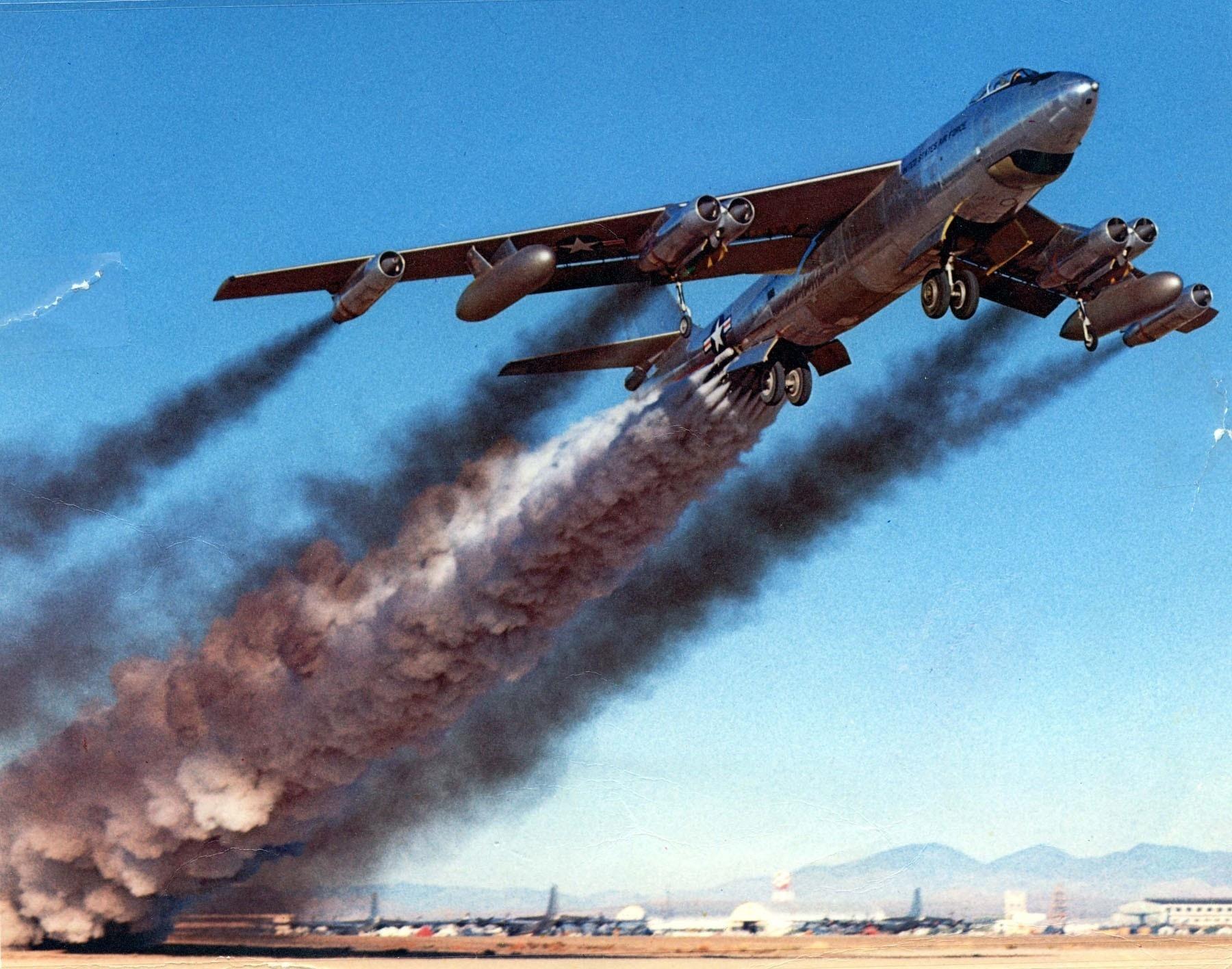 Обои дымовой след, Самолёт. Авиация foto 8