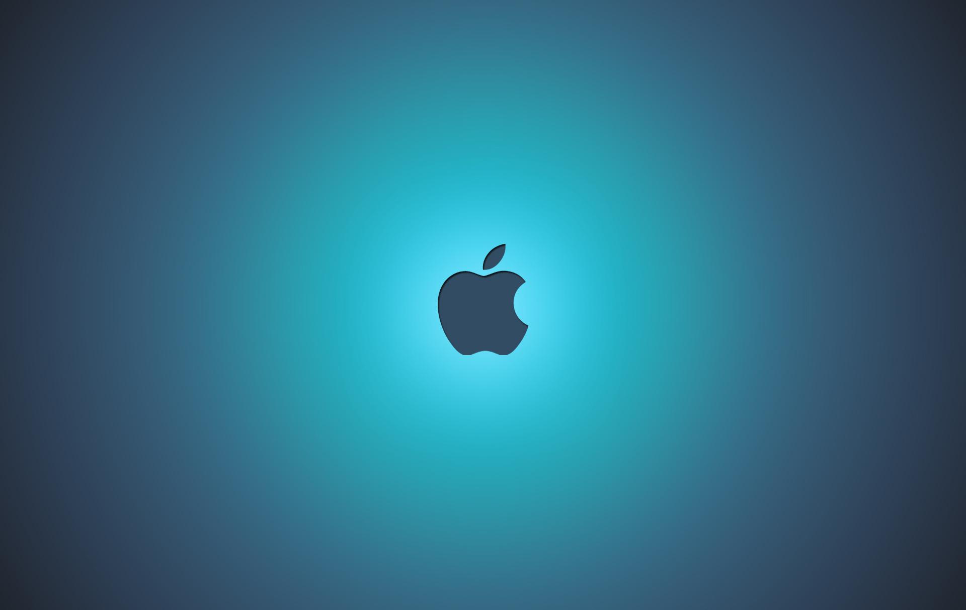 Обои яблоко, темный фон, apple. HI-Tech foto 18