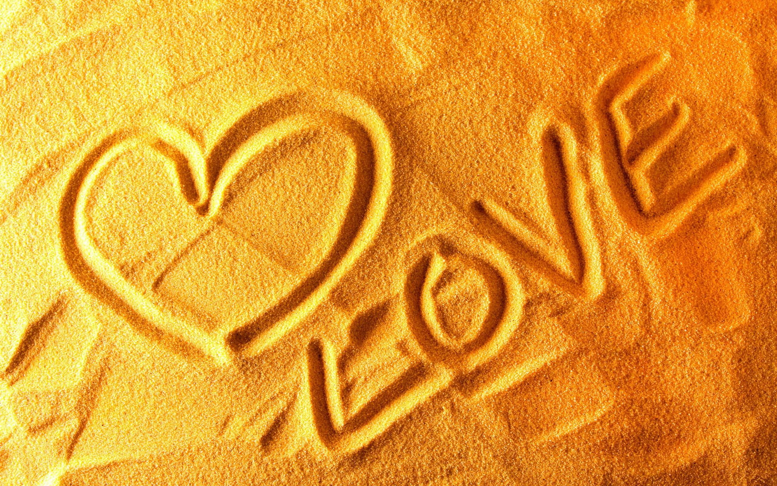 Пески любви.