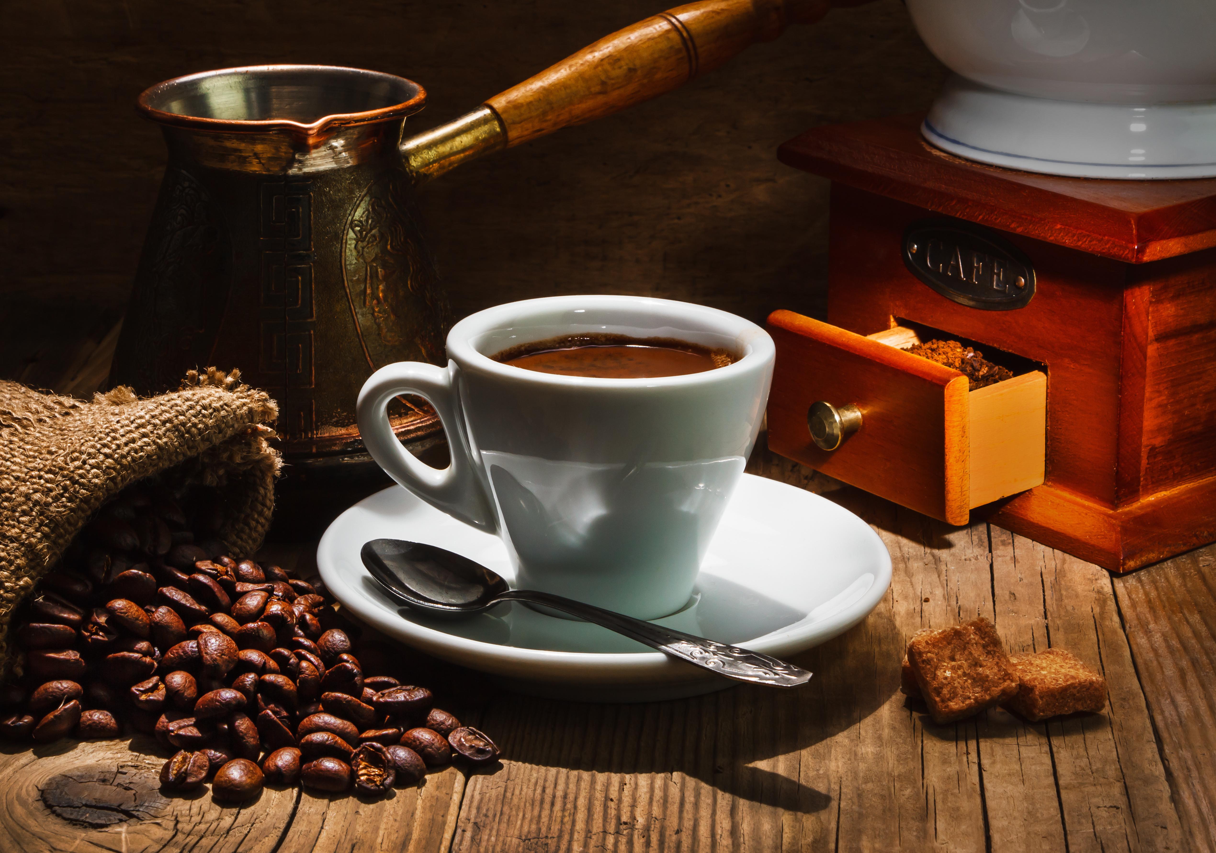 Обои кофе, зерна, стол, ложка. Разное foto 19