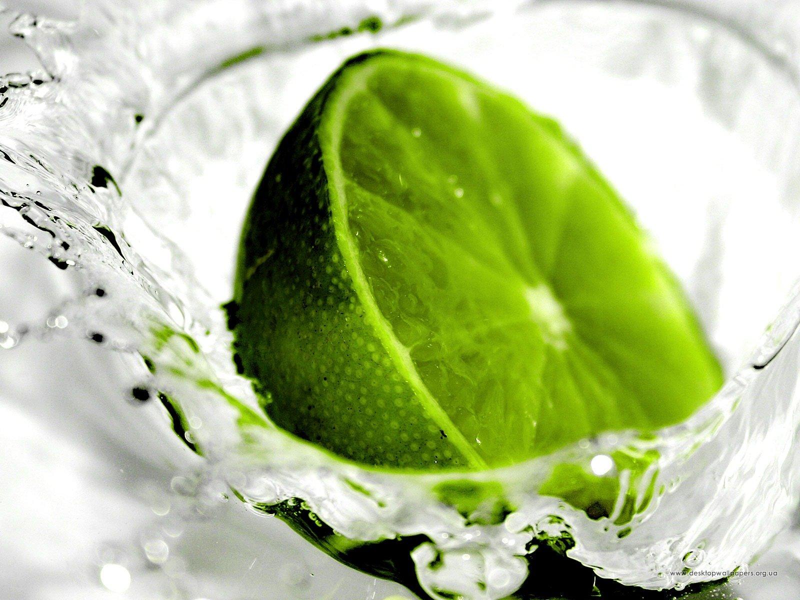 Шпалери зелений лимон переглянути