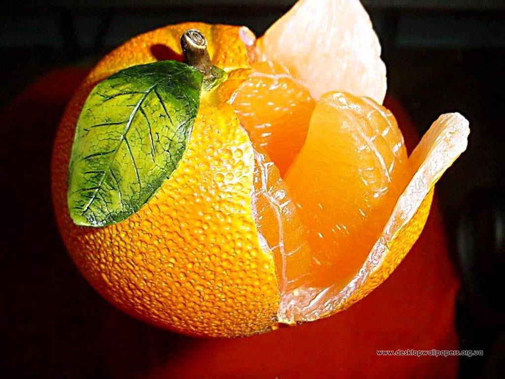 Обои апельсин посмотреть картинку в