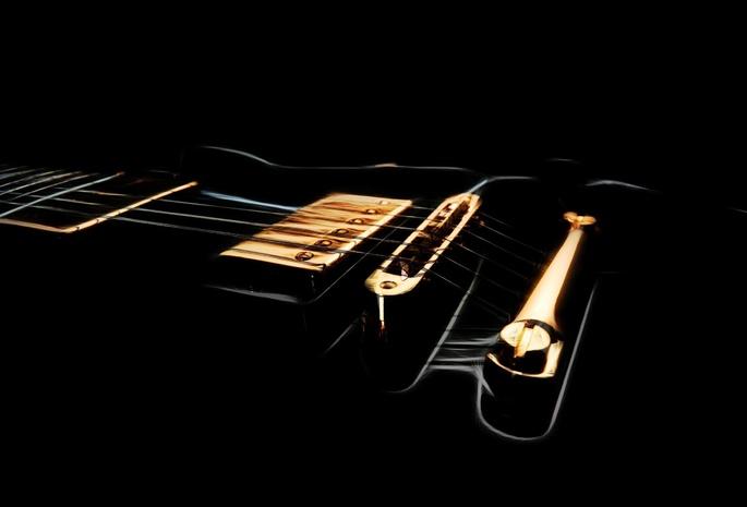 Аниме арт гитара