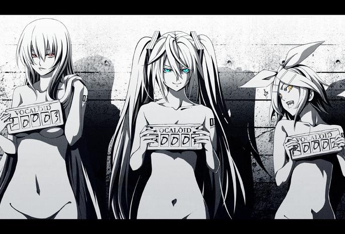 аниме девушки красотки: