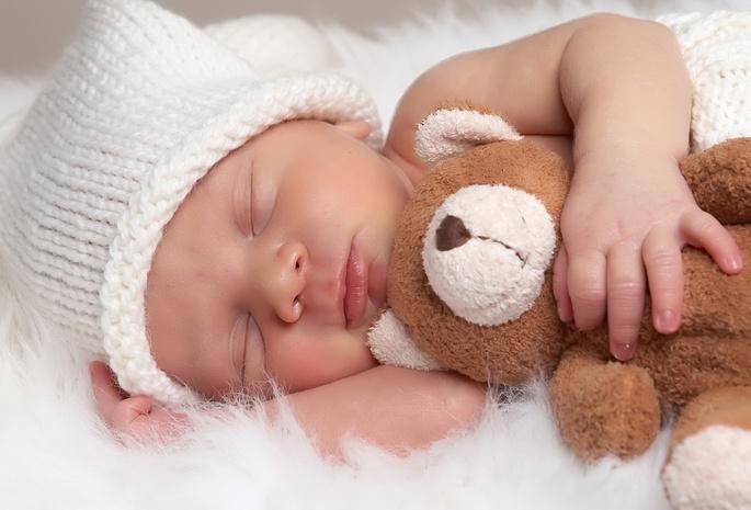 Сон младенца милое создание кроха