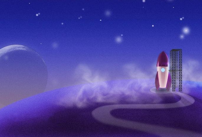 Картинки со звездами небо