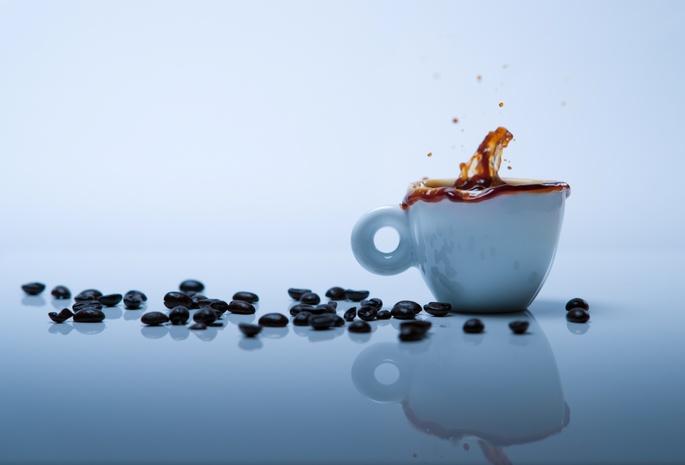 фон для сайта кофе: