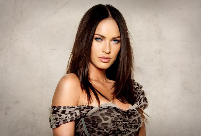 Обои Меган фокс, красотка, взгляд, megan fox, актриса для рабочего ...