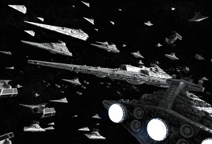 Star wars звёздные войны империя флот