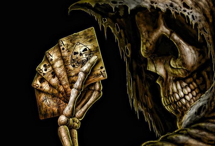 заставки на рабочий стол черепа - фото 11