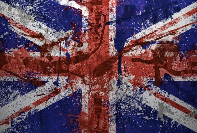 флаг великобритании обои