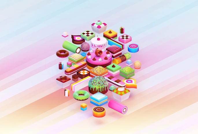 Рисунок пончики вкуснейшие - f9cc
