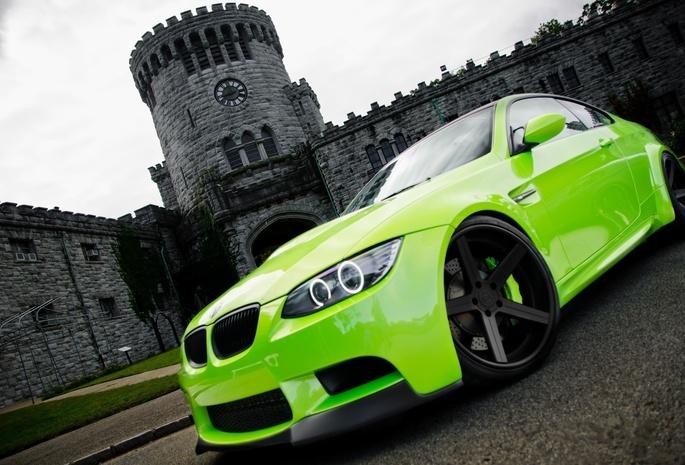 Замок крепость зеленый авто диски