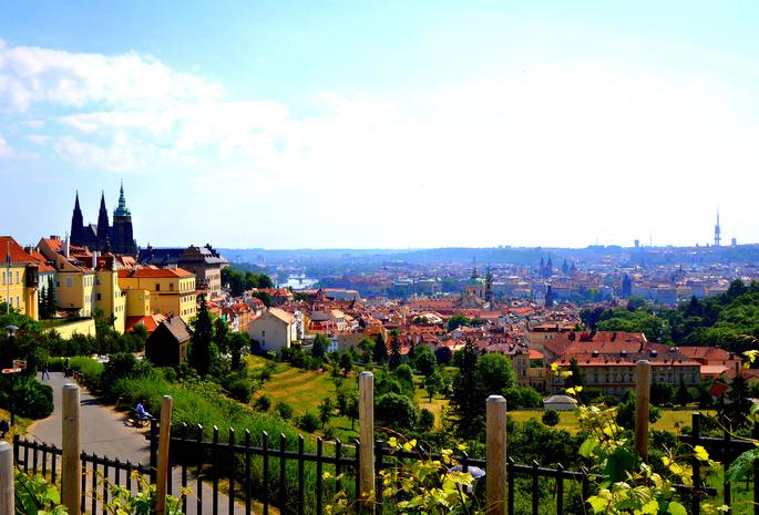 Прага  фото обои на рабочий стол картинки с видами Праги