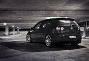 wallpapers auto, volkswagen golf, гараж, city, parking, Auto, cars, обои ав ...