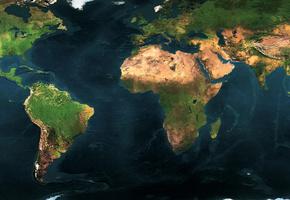 география, материки, географическая, Карта мира