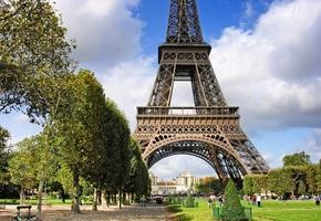 архитектура, france, франция, марсово поле, париж, Paris