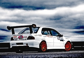 Auto, cars walls, cars, sport cars, tuning cars, evolution, mitsubishi lancer, tuning auto