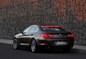 car, 2013 bmw 6-series gran coupe, машина