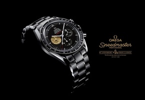 1969, omega, speedmaster professional, moon landing watch, Часы