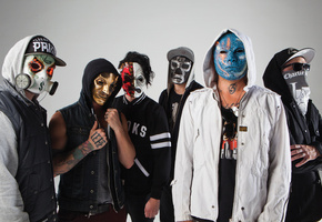funny man, j-dog, johnny 3 tears, Hollywood undead, da kurlzz, danny, notes from the underground