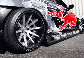 spoiler, rx-8, widebody, wheels, team, competition, red-bull racing, sportcar, Mazda, tuning, drift