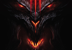 diablo 3, face and head, demon, Devil, diablo iii