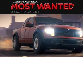 гонки, ford, еа, Need for speed most wanted 2, внедорожник, f-150 svt raptor