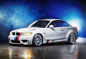 Bmw 1m coupe, бмв, дым, тюнинг