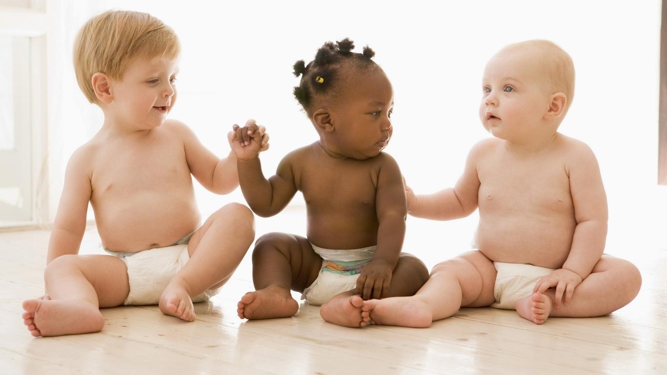 Фото самые разные дети