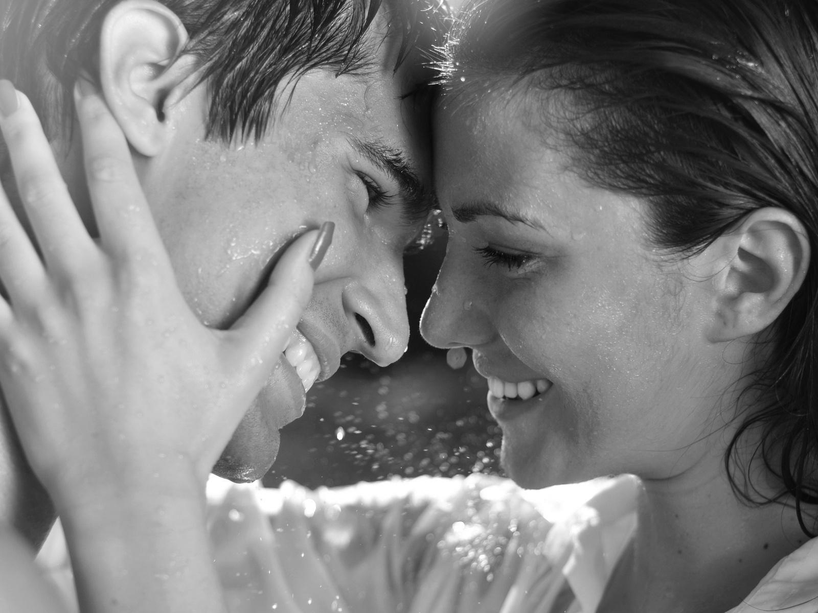 Дождь страсть чувства романтика
