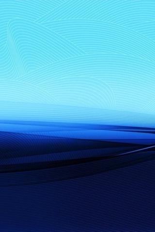 синий, голубой, белые полосочки, развод