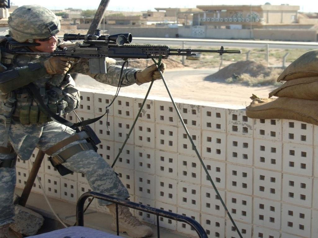 снайпер, морпех, позиция, винтовка, прицел, оптика, воин,плиты, стрелок