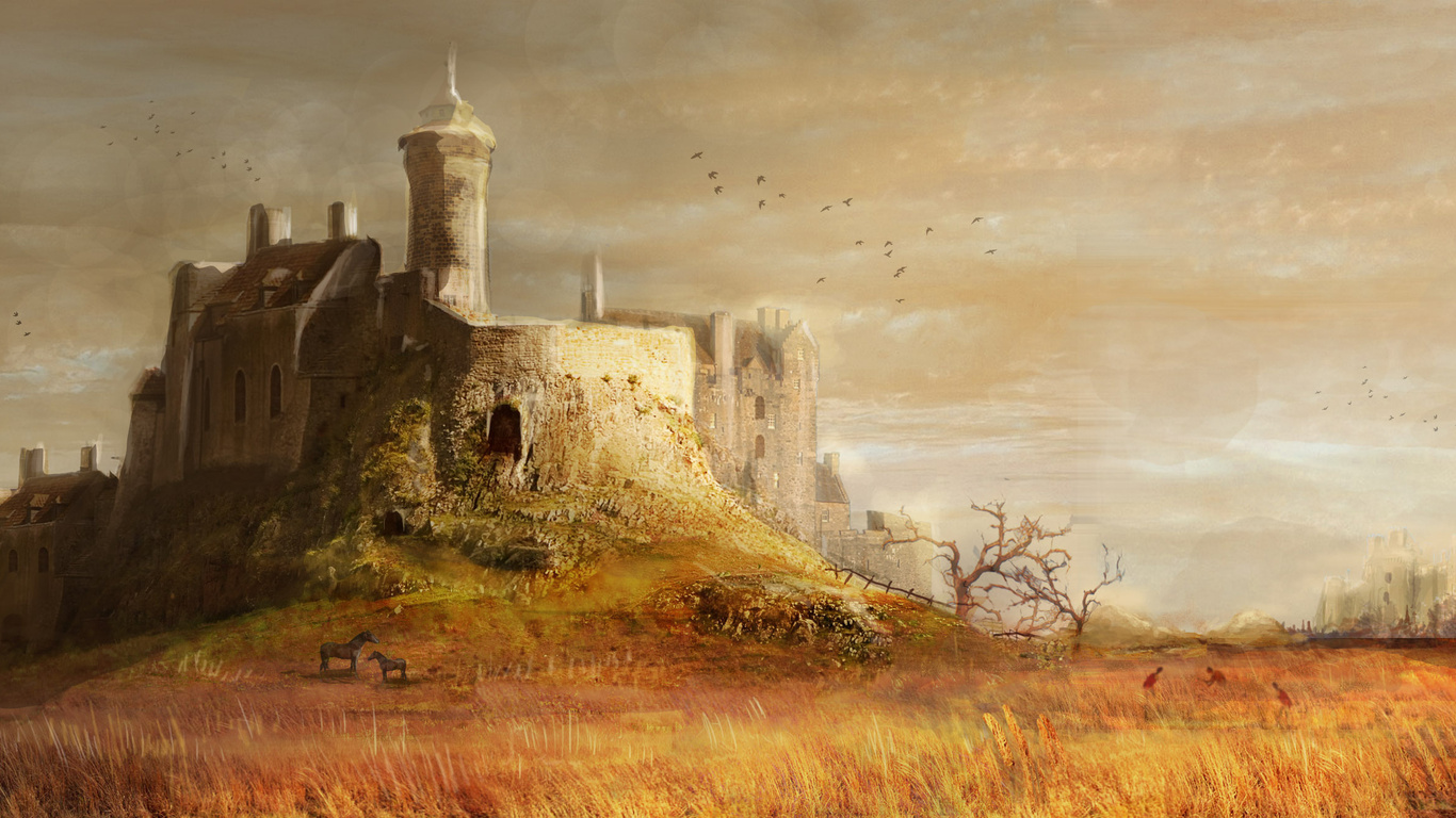 medieval castle wallpapers images
