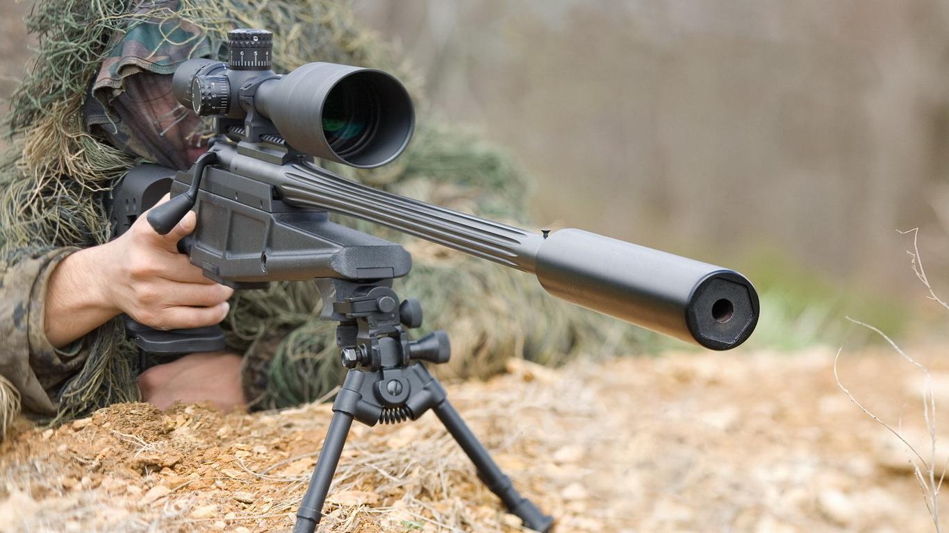 снайпер, Blazer, прицел, оружие,, маскировка, стрелок