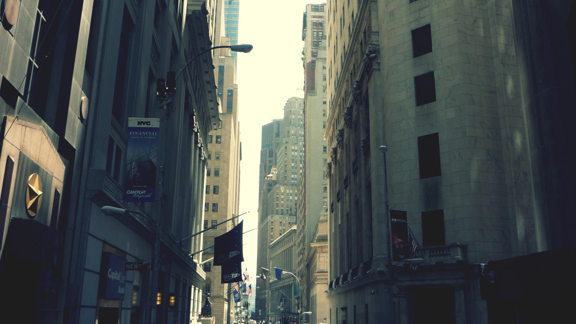 Город, нью-йорк, new york, city, улица, небоскребы, здания, мегаполис, люди, фон