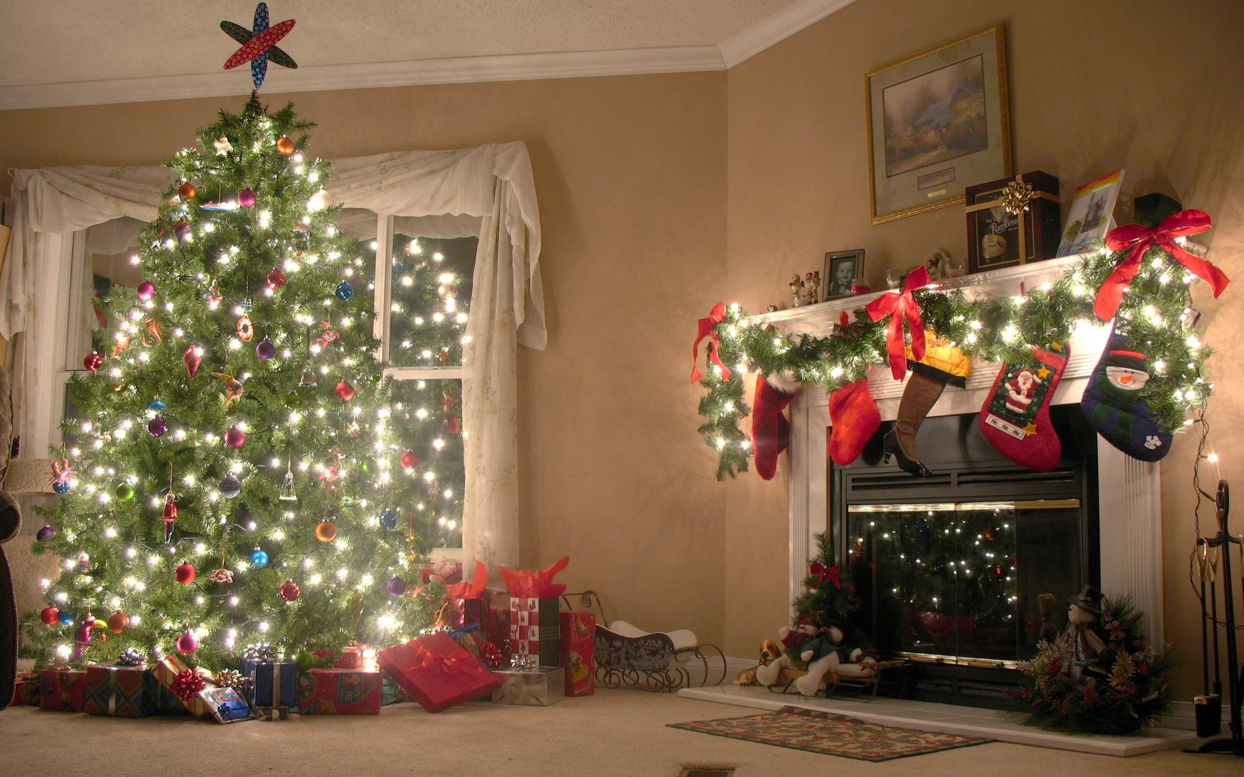 Новый год дома фото