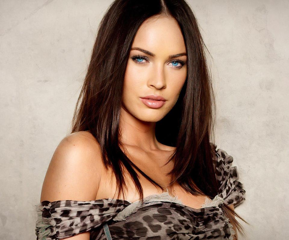 Картинки Меган фокс, красотка, взгляд, megan fox, актриса, шатенка ...