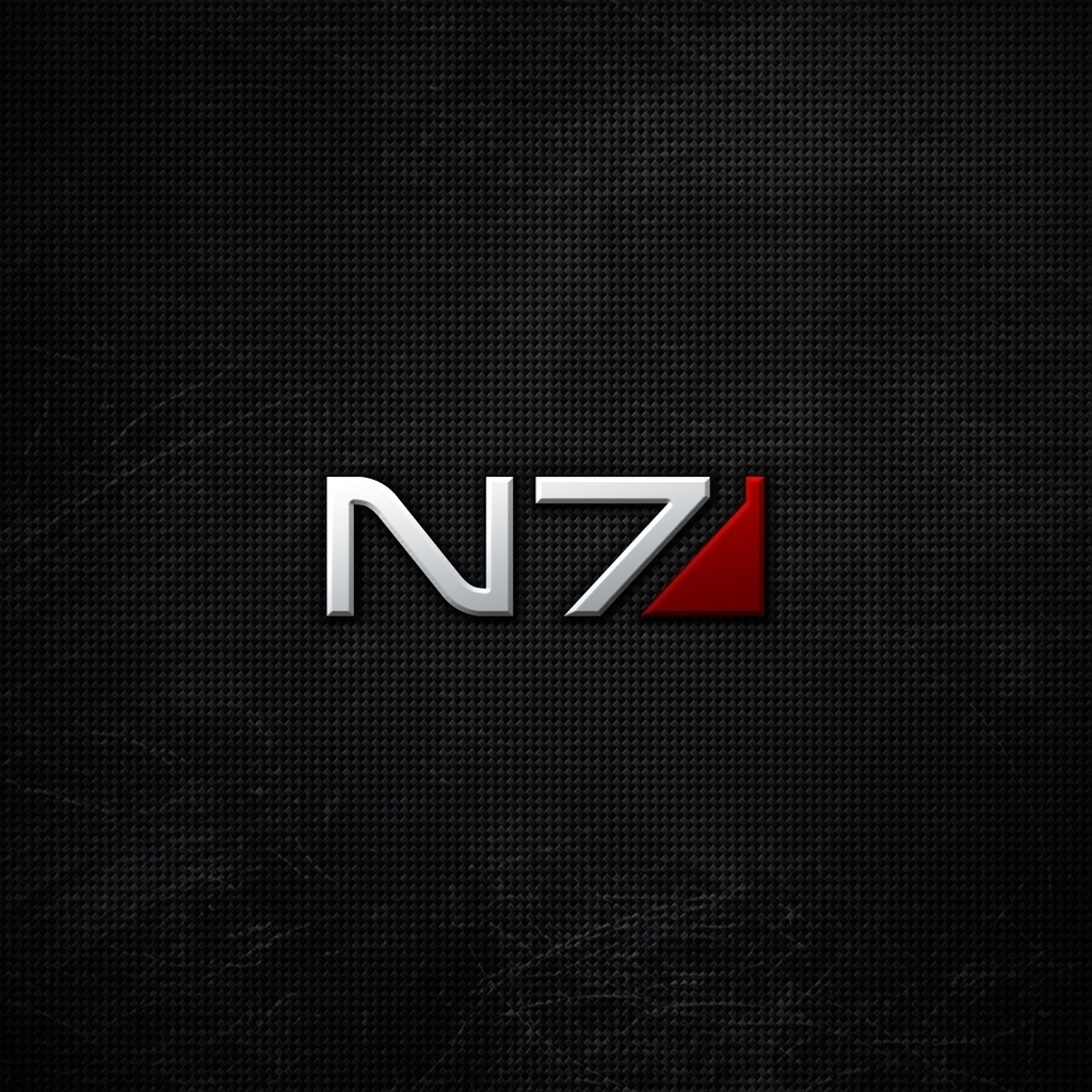 фон, Mass effect, n7, logo