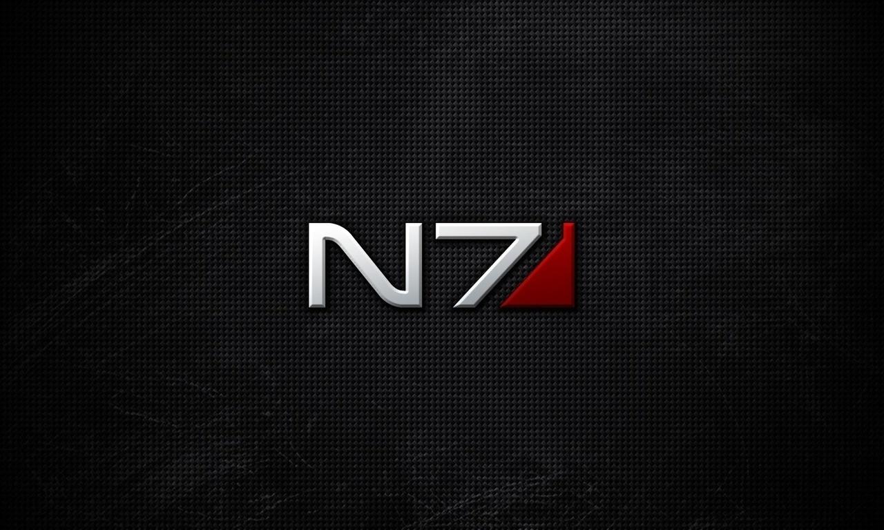 фон, Mass effect, n7, logo
