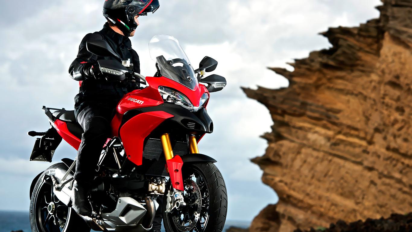 ducati multistrada 1200 s, ducati, дукати, rosso, красный, дизайн, техно, италия, мотобайк, hi-tech, байк, мотоциклы, мото, спортбайк, мототранспорт