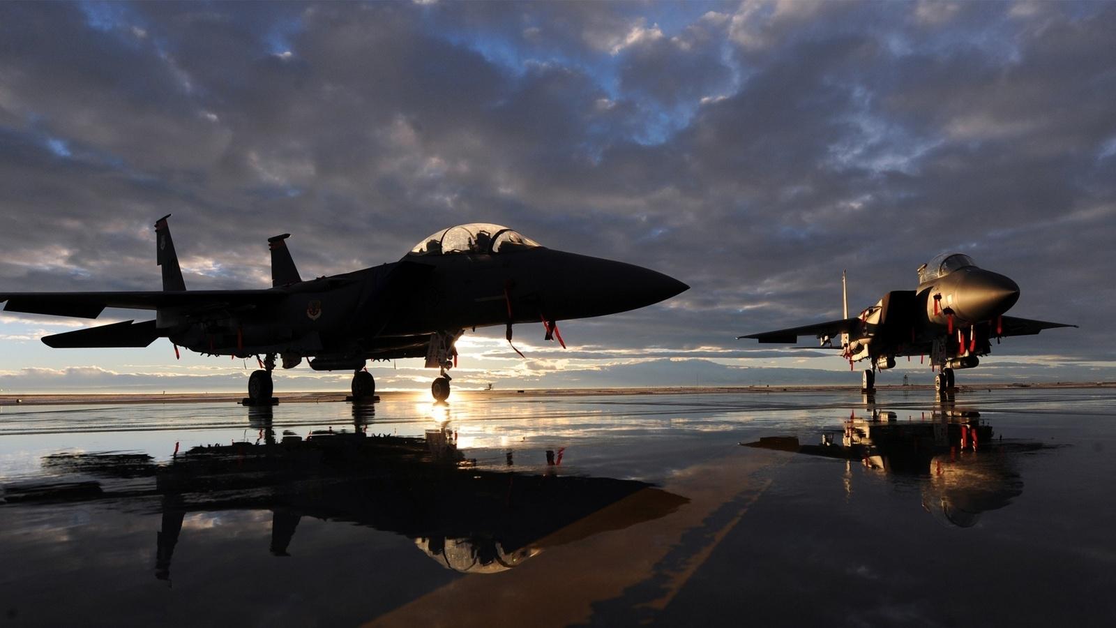 Обои Mcdonnell douglas, истребитель, Самолёт, eagle, Облака. Авиация foto 7