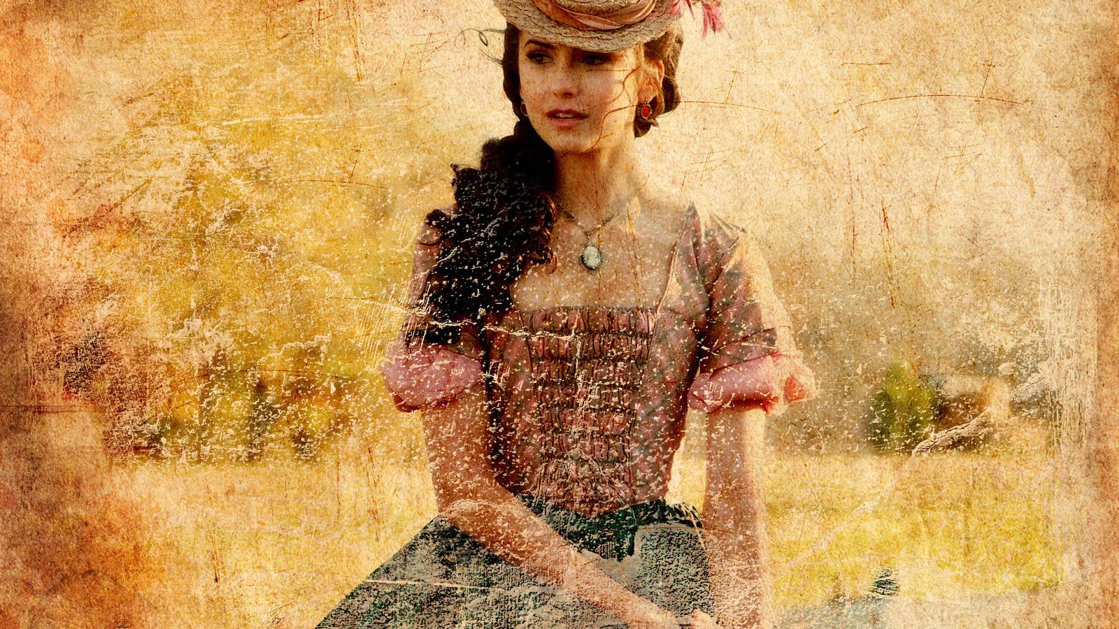 Фото девушки в старинных платьях