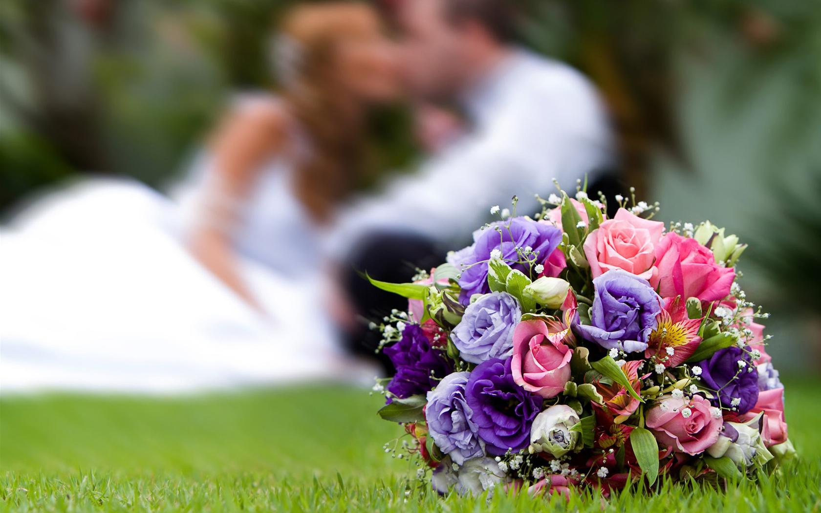 Обои жених, свадебный, цветы. Праздники foto 10