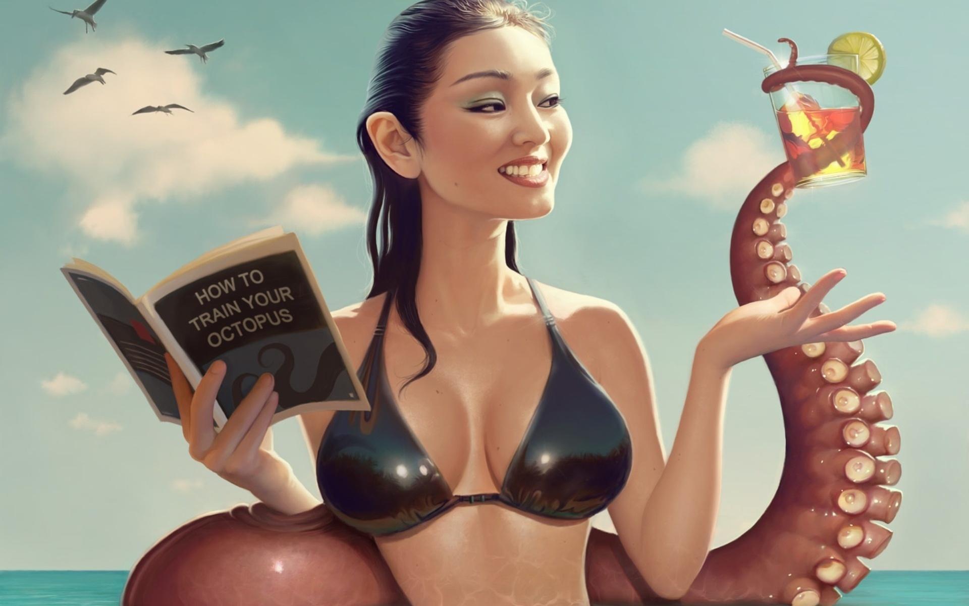 Секс девочки рисованные 27 фотография