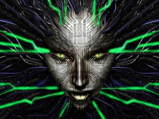 system shock 2, shodan, ai, разум, машина, шодан, von braun, rickenbacker, the many, tri-optimum, хакер, интеллект, сознание, форма жизни, электричество, поток, лицо