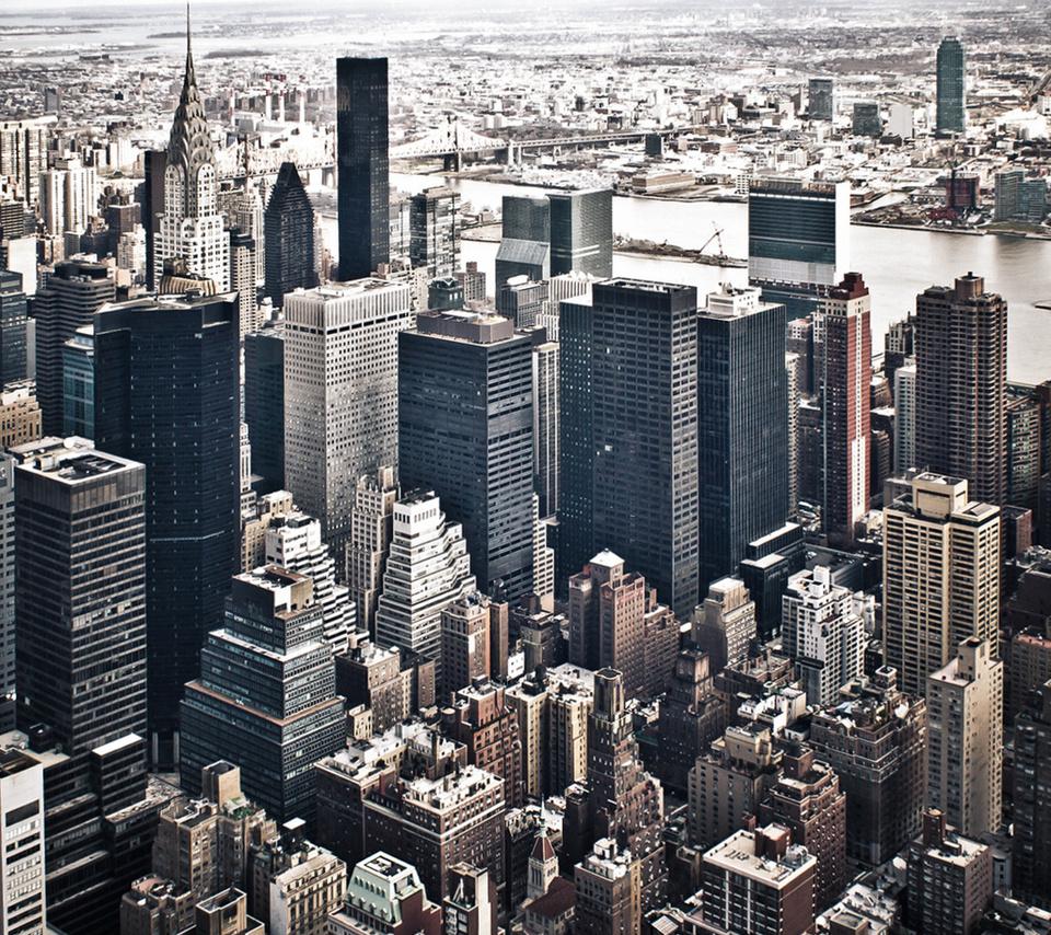 New york, небоскребы, мегаполис, здания, ny, город, нью-йорк, вид, панорама, серость,сша, америка,столица, река, new york, небоскребы, мегаполис, здания, ny, город, нью-йорк, вид, панорама, серость, сша, америка, столица