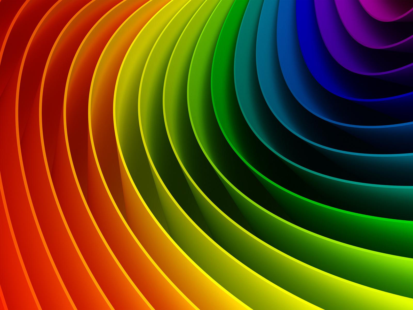 Pin astratto arcobaleno foto sfondi per desktop wallpapers for Sfondi per desktop 3d